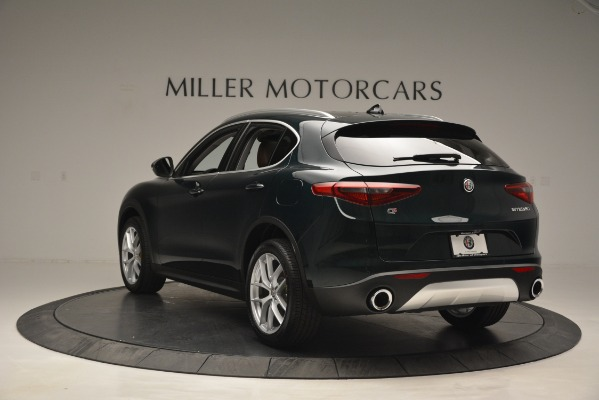 New 2019 Alfa Romeo Stelvio Q4 for sale Sold at Bentley Greenwich in Greenwich CT 06830 5