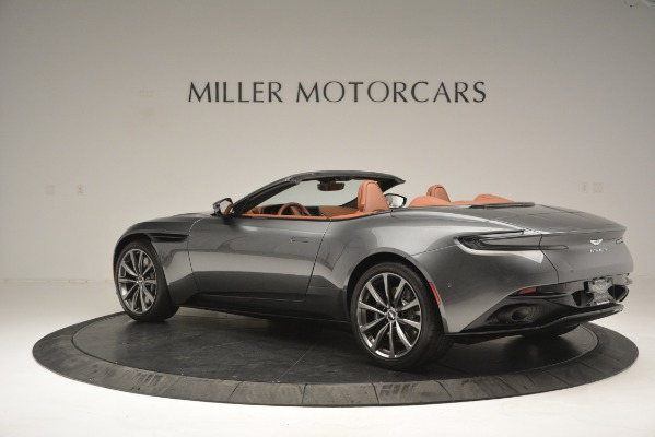 Used 2019 Aston Martin DB11 Volante for sale $214,990 at Bentley Greenwich in Greenwich CT 06830 3