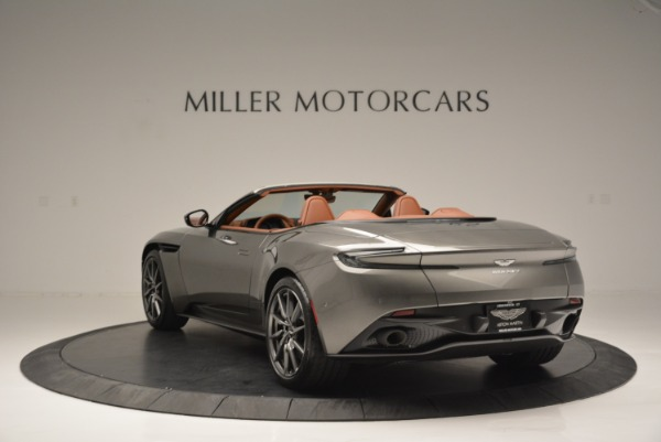 Used 2019 Aston Martin DB11 V8 Convertible for sale Sold at Bentley Greenwich in Greenwich CT 06830 5