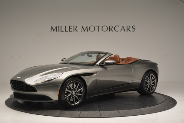 Used 2019 Aston Martin DB11 V8 Convertible for sale Sold at Bentley Greenwich in Greenwich CT 06830 1