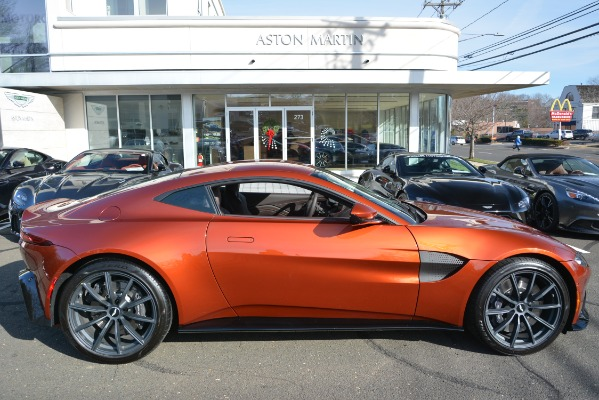 Used 2019 Aston Martin Vantage Coupe for sale Sold at Bentley Greenwich in Greenwich CT 06830 22