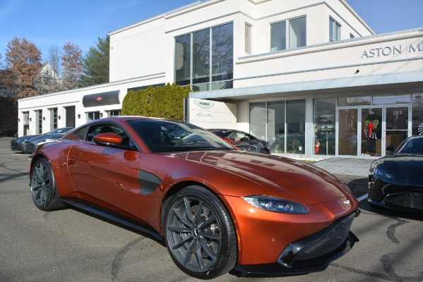 Used 2019 Aston Martin Vantage Coupe for sale Sold at Bentley Greenwich in Greenwich CT 06830 23