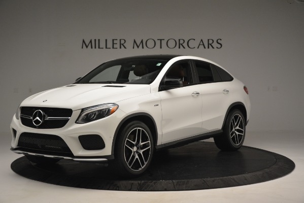 Used 2016 Mercedes-Benz GLE 450 AMG Coupe 4MATIC for sale Sold at Bentley Greenwich in Greenwich CT 06830 2