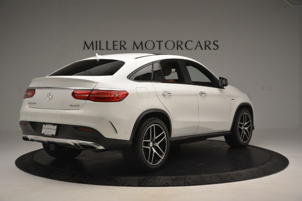 Used 2016 Mercedes-Benz GLE 450 AMG Coupe 4MATIC for sale Sold at Bentley Greenwich in Greenwich CT 06830 8