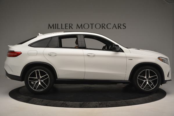 Used 2016 Mercedes-Benz GLE 450 AMG Coupe 4MATIC for sale Sold at Bentley Greenwich in Greenwich CT 06830 9
