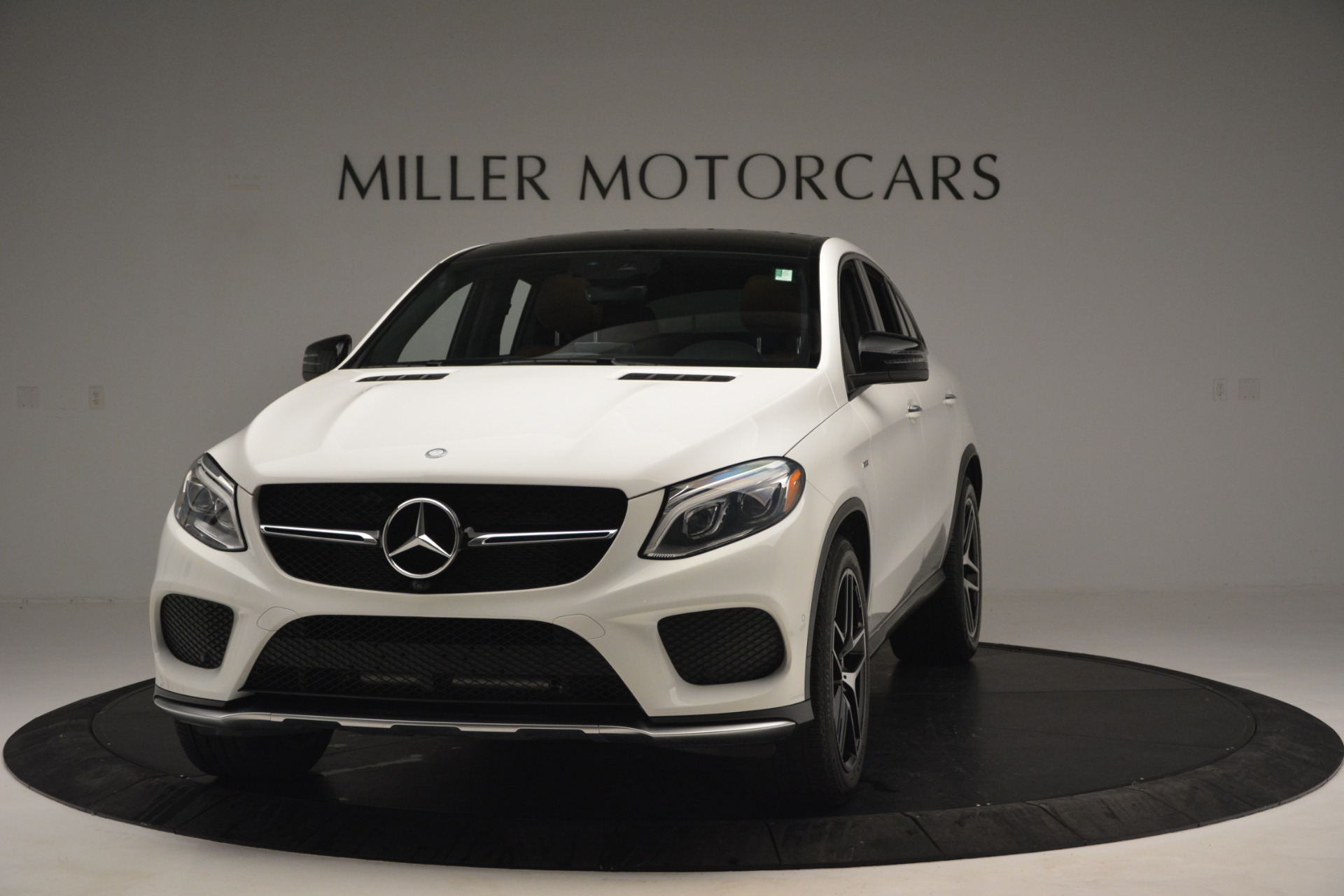 Used 2016 Mercedes-Benz GLE 450 AMG Coupe 4MATIC for sale Sold at Bentley Greenwich in Greenwich CT 06830 1