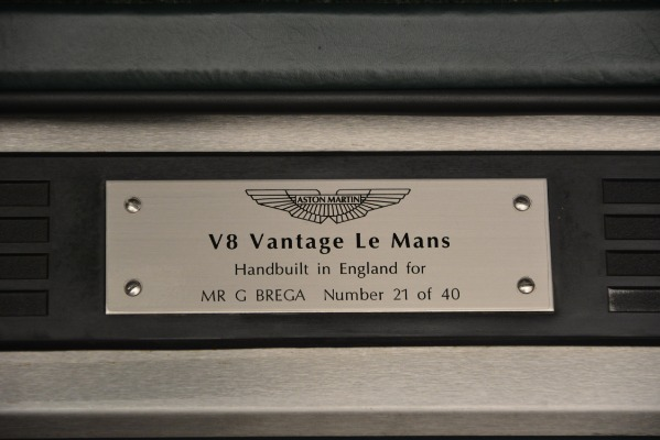 Used 1999 Aston Martin V8 Vantage Le Mans V600 Coupe for sale $550,000 at Bentley Greenwich in Greenwich CT 06830 19
