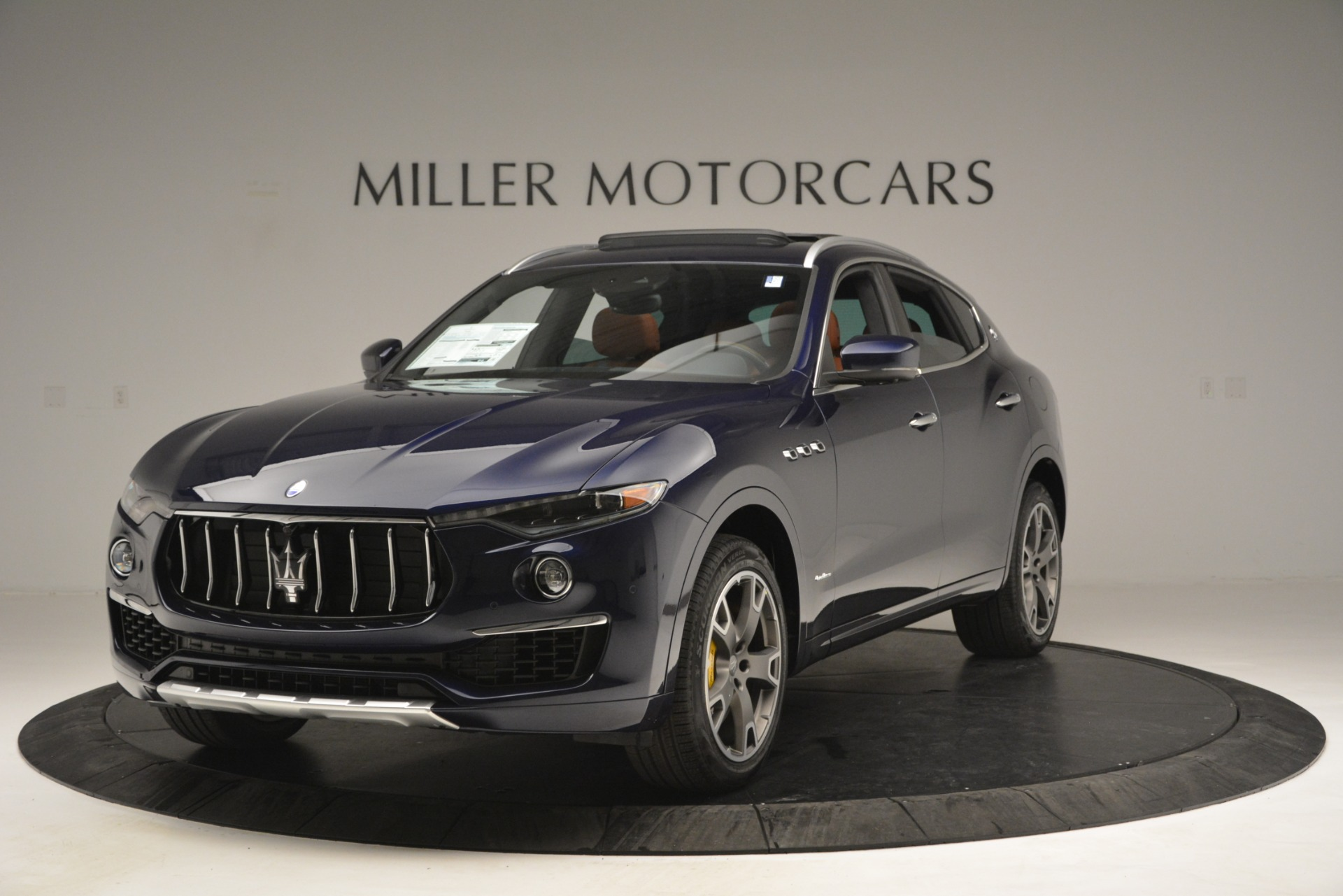 New 2019 Maserati Levante S Q4 GranLusso for sale Sold at Bentley Greenwich in Greenwich CT 06830 1