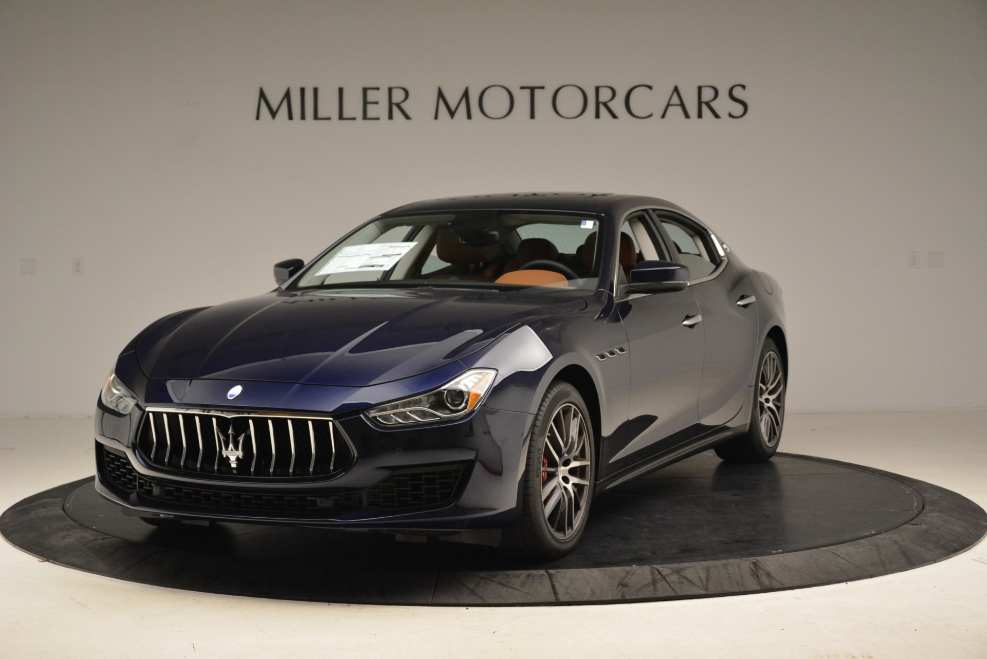 New 2019 Maserati Ghibli S Q4 for sale $59,900 at Bentley Greenwich in Greenwich CT 06830 1