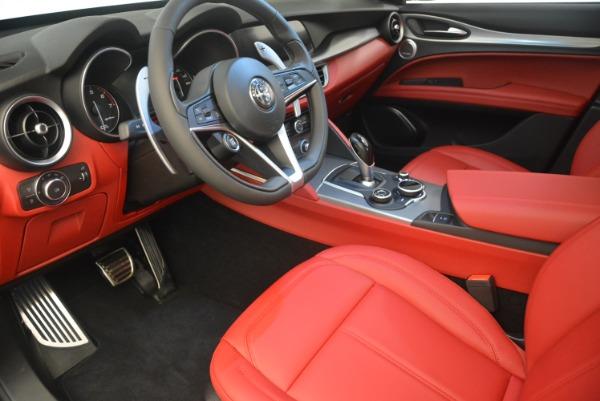 New 2019 Alfa Romeo Stelvio Sport Q4 for sale Sold at Bentley Greenwich in Greenwich CT 06830 13