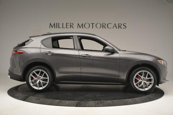 New 2019 Alfa Romeo Stelvio Sport Q4 for sale Sold at Bentley Greenwich in Greenwich CT 06830 9