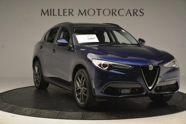 New 2019 Alfa Romeo Stelvio Sport Q4 for sale Sold at Bentley Greenwich in Greenwich CT 06830 11