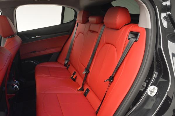 New 2019 Alfa Romeo Stelvio Q4 for sale Sold at Bentley Greenwich in Greenwich CT 06830 17
