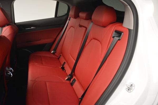 New 2019 Alfa Romeo Stelvio Q4 for sale Sold at Bentley Greenwich in Greenwich CT 06830 16