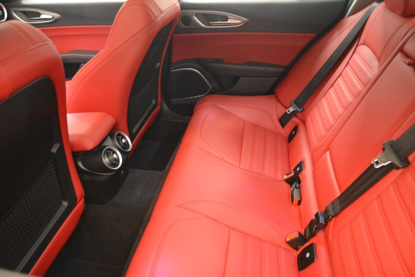 New 2019 Alfa Romeo Giulia Ti Sport Q4 for sale Sold at Bentley Greenwich in Greenwich CT 06830 17