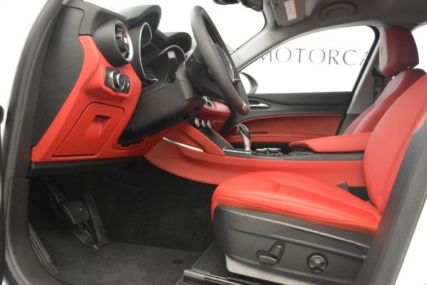 New 2019 Alfa Romeo Stelvio Q4 for sale Sold at Bentley Greenwich in Greenwich CT 06830 14