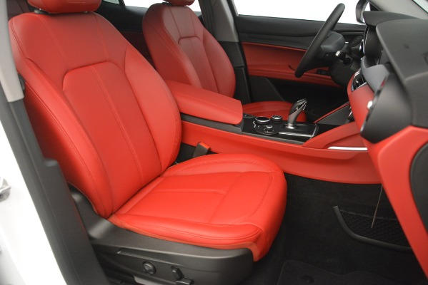 New 2019 Alfa Romeo Stelvio Q4 for sale Sold at Bentley Greenwich in Greenwich CT 06830 24