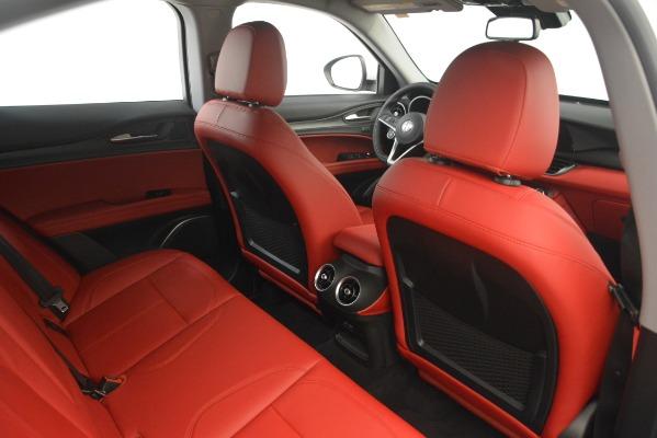 New 2019 Alfa Romeo Stelvio Q4 for sale Sold at Bentley Greenwich in Greenwich CT 06830 28
