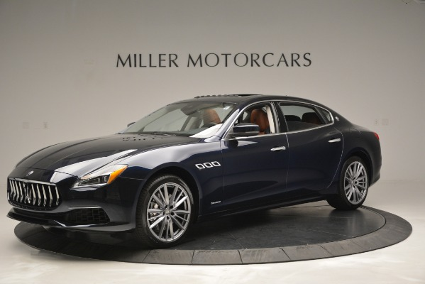 New 2019 Maserati Quattroporte S Q4 GranLusso Edizione Nobile for sale Sold at Bentley Greenwich in Greenwich CT 06830 2