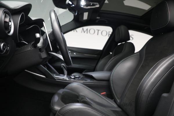 New 2019 Alfa Romeo Stelvio Quadrifoglio for sale Sold at Bentley Greenwich in Greenwich CT 06830 14