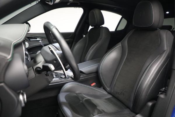 New 2019 Alfa Romeo Stelvio Quadrifoglio for sale Sold at Bentley Greenwich in Greenwich CT 06830 15