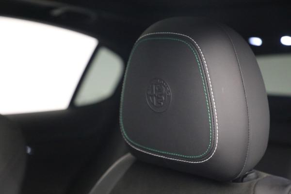 New 2019 Alfa Romeo Stelvio Quadrifoglio for sale Sold at Bentley Greenwich in Greenwich CT 06830 16