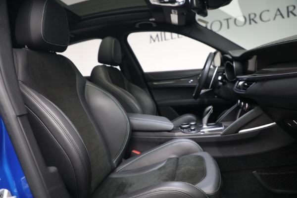 New 2019 Alfa Romeo Stelvio Quadrifoglio for sale Sold at Bentley Greenwich in Greenwich CT 06830 21