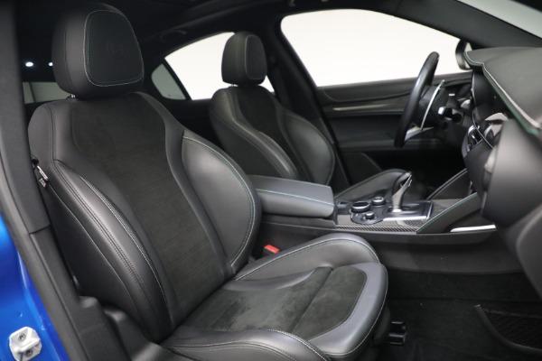 New 2019 Alfa Romeo Stelvio Quadrifoglio for sale Sold at Bentley Greenwich in Greenwich CT 06830 22