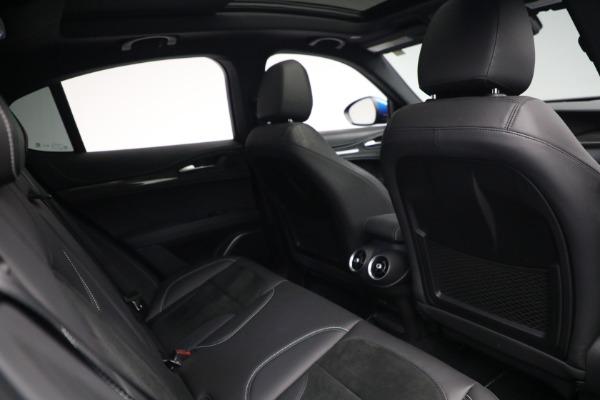 New 2019 Alfa Romeo Stelvio Quadrifoglio for sale Sold at Bentley Greenwich in Greenwich CT 06830 28