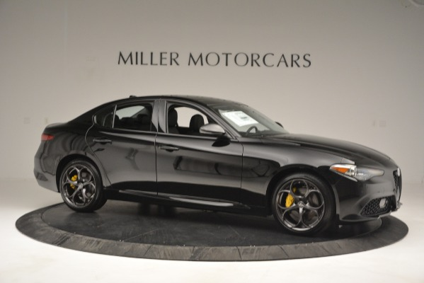 New 2019 Alfa Romeo Giulia Sport Q4 for sale Sold at Bentley Greenwich in Greenwich CT 06830 10