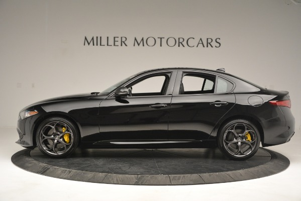New 2019 Alfa Romeo Giulia Sport Q4 for sale Sold at Bentley Greenwich in Greenwich CT 06830 3