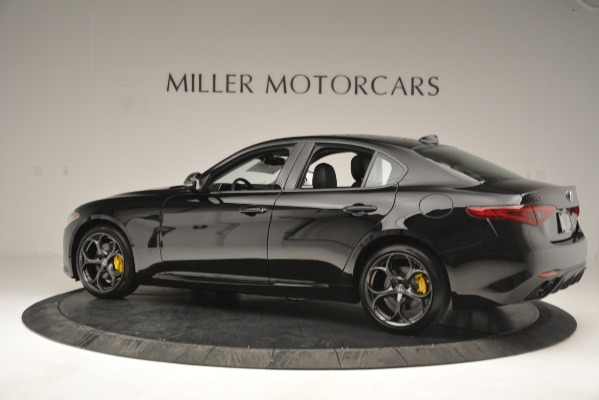 New 2019 Alfa Romeo Giulia Sport Q4 for sale Sold at Bentley Greenwich in Greenwich CT 06830 4