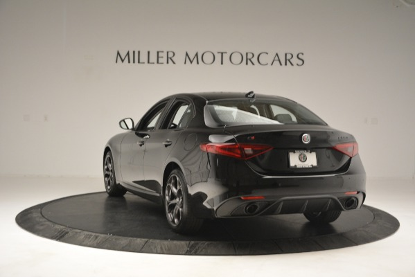 New 2019 Alfa Romeo Giulia Sport Q4 for sale Sold at Bentley Greenwich in Greenwich CT 06830 5