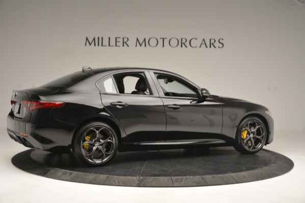 New 2019 Alfa Romeo Giulia Sport Q4 for sale Sold at Bentley Greenwich in Greenwich CT 06830 8
