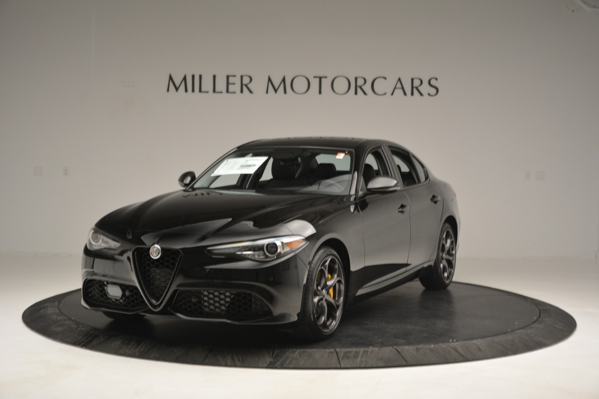 New 2019 Alfa Romeo Giulia Sport Q4 for sale Sold at Bentley Greenwich in Greenwich CT 06830 1