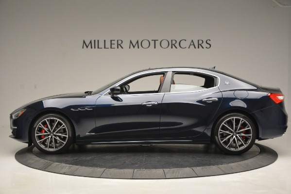 New 2019 Maserati Ghibli S Q4 GranLusso for sale Sold at Bentley Greenwich in Greenwich CT 06830 4