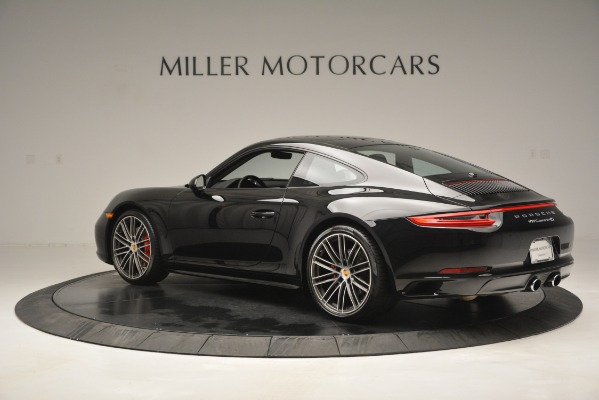 Used 2017 Porsche 911 Carrera 4S for sale Sold at Bentley Greenwich in Greenwich CT 06830 4