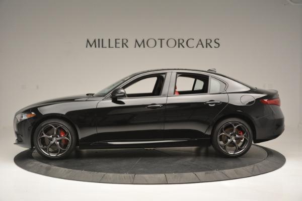 New 2019 Alfa Romeo Giulia Q4 for sale Sold at Bentley Greenwich in Greenwich CT 06830 3