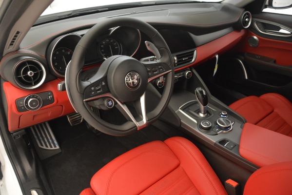 New 2019 Alfa Romeo Giulia Ti Sport Q4 for sale Sold at Bentley Greenwich in Greenwich CT 06830 13