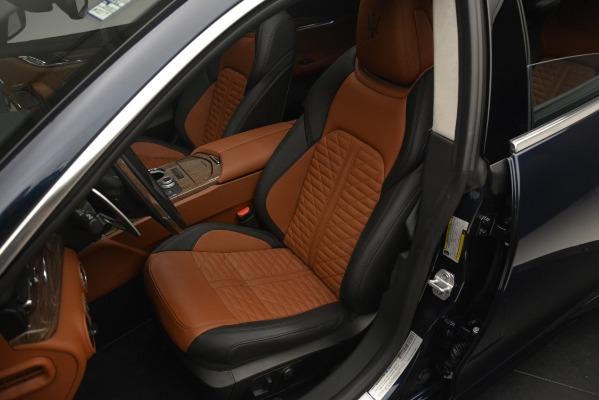 New 2019 Maserati Quattroporte S Q4 GranLusso Edizione Nobile for sale Sold at Bentley Greenwich in Greenwich CT 06830 19