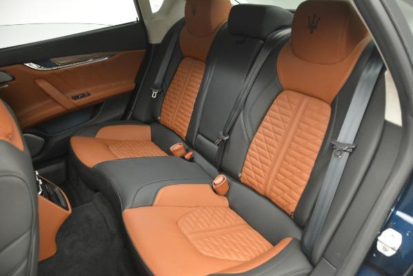 New 2019 Maserati Quattroporte S Q4 GranLusso Edizione Nobile for sale Sold at Bentley Greenwich in Greenwich CT 06830 22