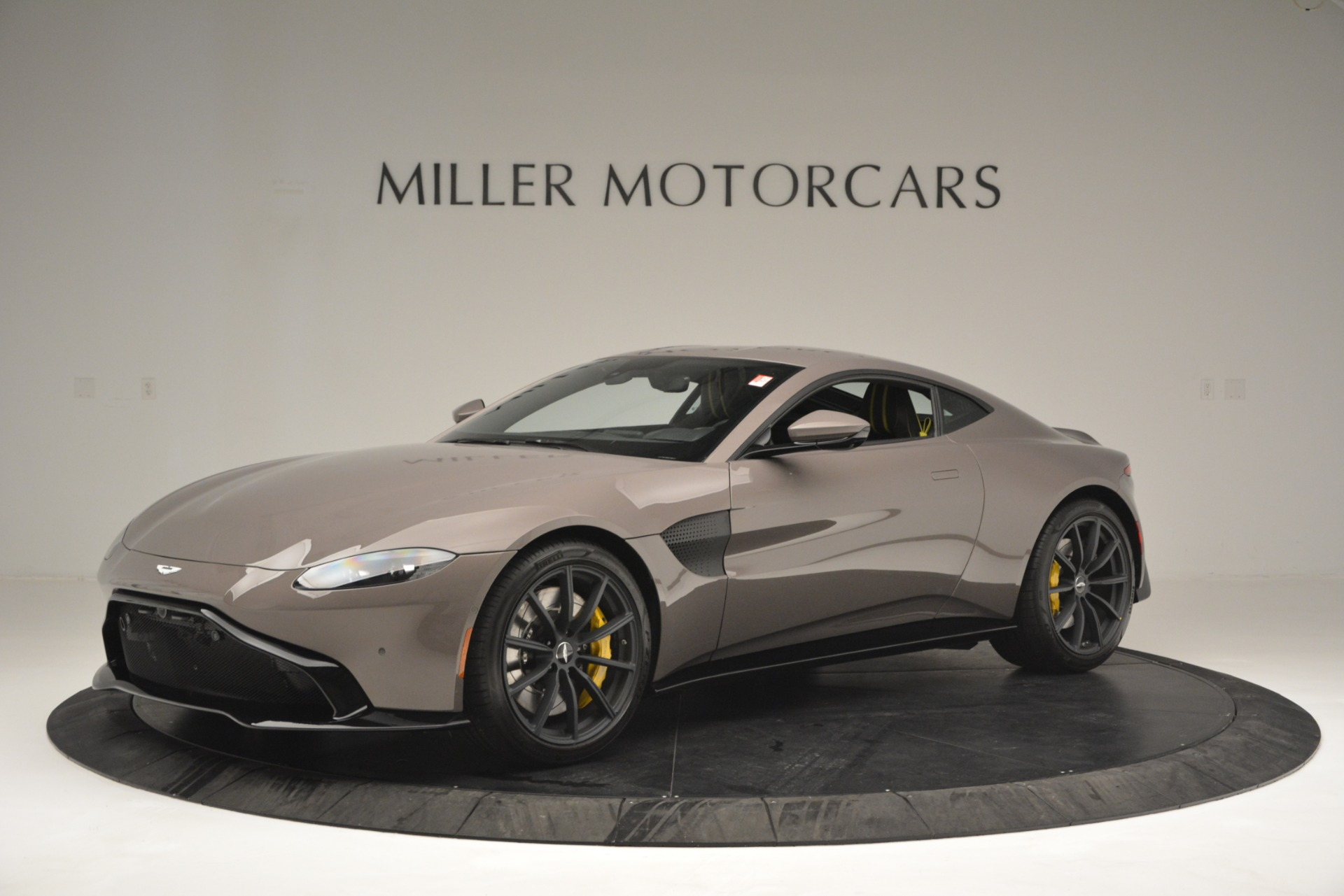 Used 2019 Aston Martin Vantage Coupe for sale Sold at Bentley Greenwich in Greenwich CT 06830 1
