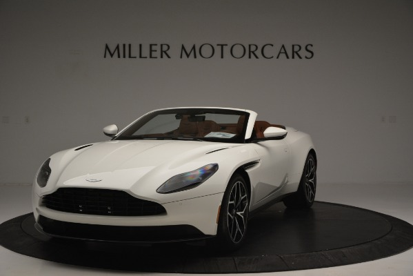 Used 2019 Aston Martin DB11 V8 Convertible for sale Sold at Bentley Greenwich in Greenwich CT 06830 2