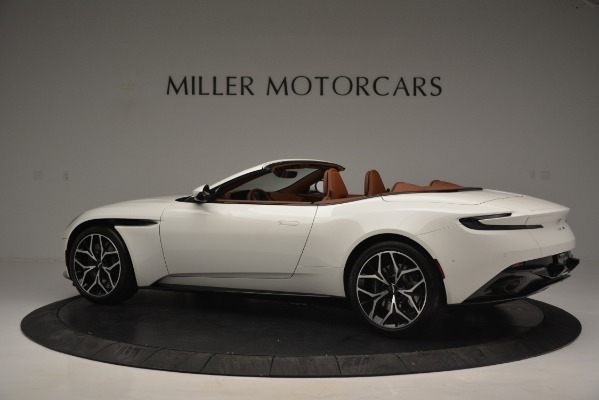Used 2019 Aston Martin DB11 V8 Convertible for sale Sold at Bentley Greenwich in Greenwich CT 06830 4