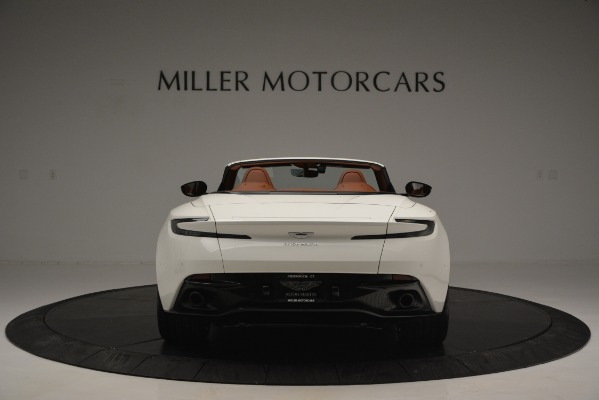 Used 2019 Aston Martin DB11 V8 Convertible for sale Sold at Bentley Greenwich in Greenwich CT 06830 6