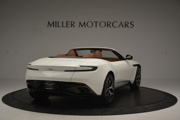 Used 2019 Aston Martin DB11 V8 Convertible for sale Sold at Bentley Greenwich in Greenwich CT 06830 7