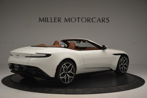 Used 2019 Aston Martin DB11 V8 Convertible for sale Sold at Bentley Greenwich in Greenwich CT 06830 8