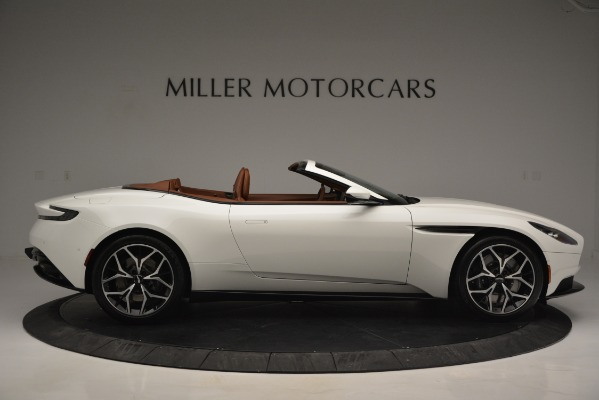 Used 2019 Aston Martin DB11 V8 Convertible for sale Sold at Bentley Greenwich in Greenwich CT 06830 9