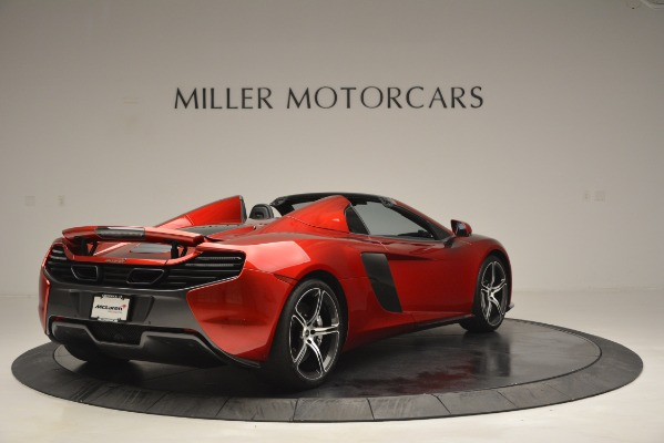 Used 2015 McLaren 650S Spider for sale Sold at Bentley Greenwich in Greenwich CT 06830 7