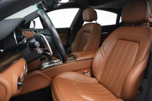 Used 2015 Maserati Quattroporte S Q4 for sale Sold at Bentley Greenwich in Greenwich CT 06830 13
